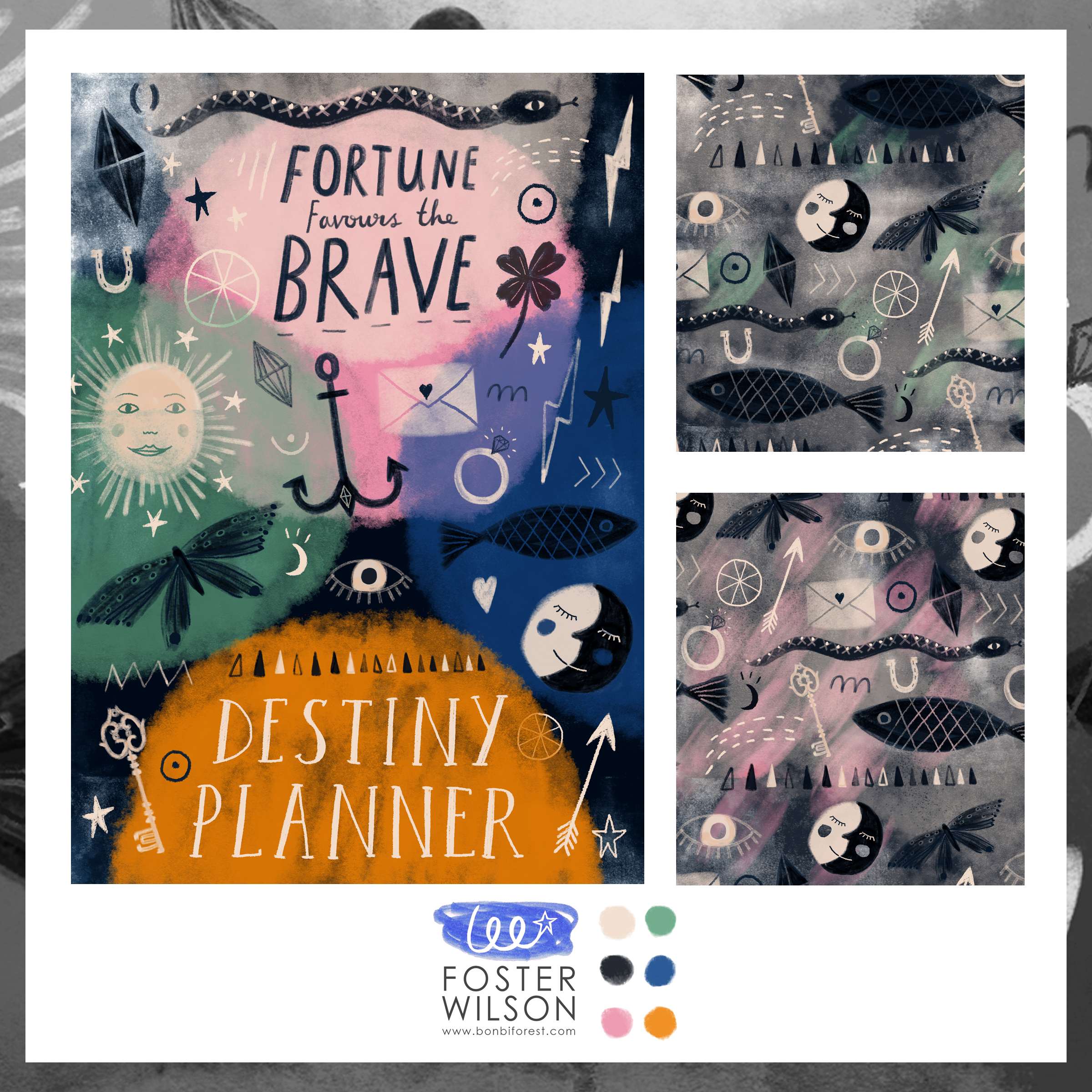 Destiny Planner Journal Cover · Lee Foster-Wilson