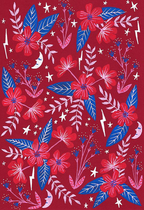 Red Moon Garden · Lee Foster-Wilson