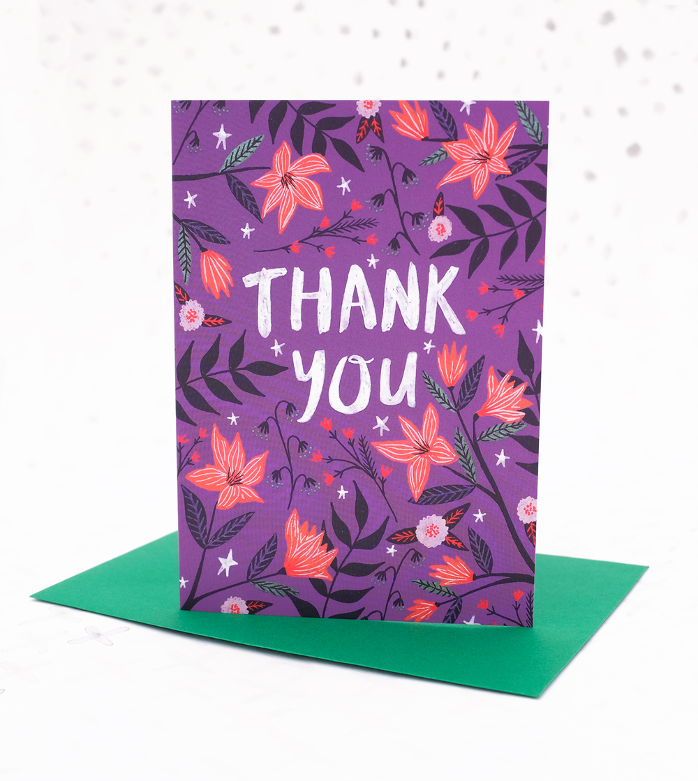 Thank You Card · Lee Foster-Wilson