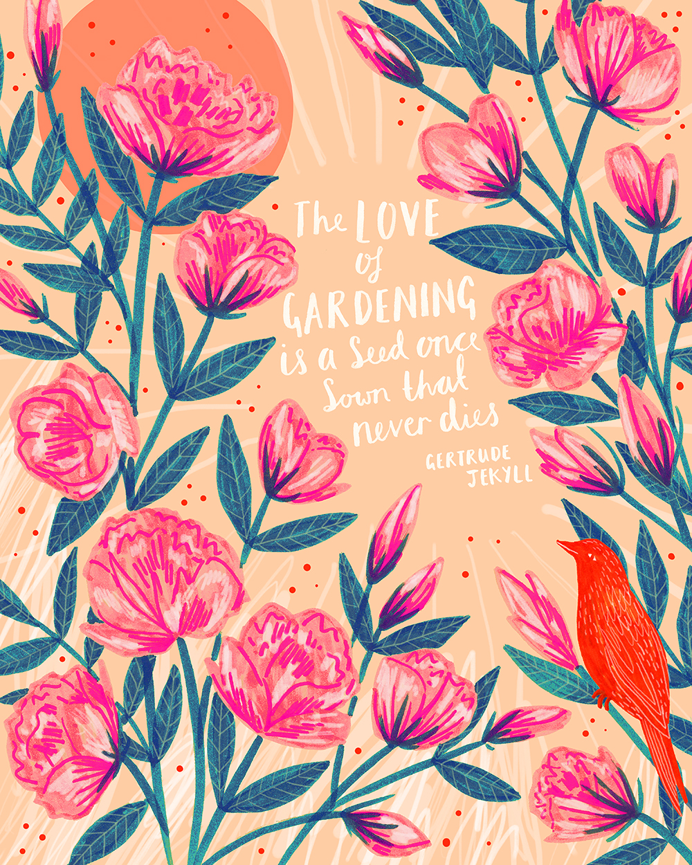 The Love of Gardening · Lee Foster-Wilson