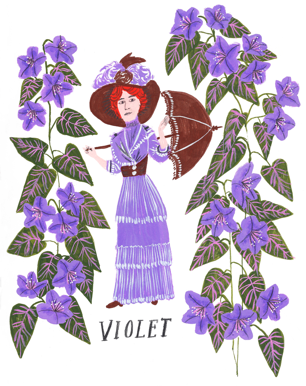 Lily, Rose and Violet · Lee Foster-Wilson