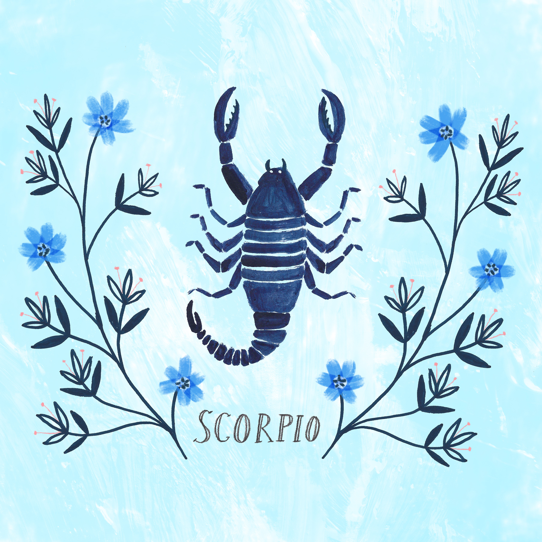 Zodiac Cards for In the Moment Magazine · Lee Foster-Wilson