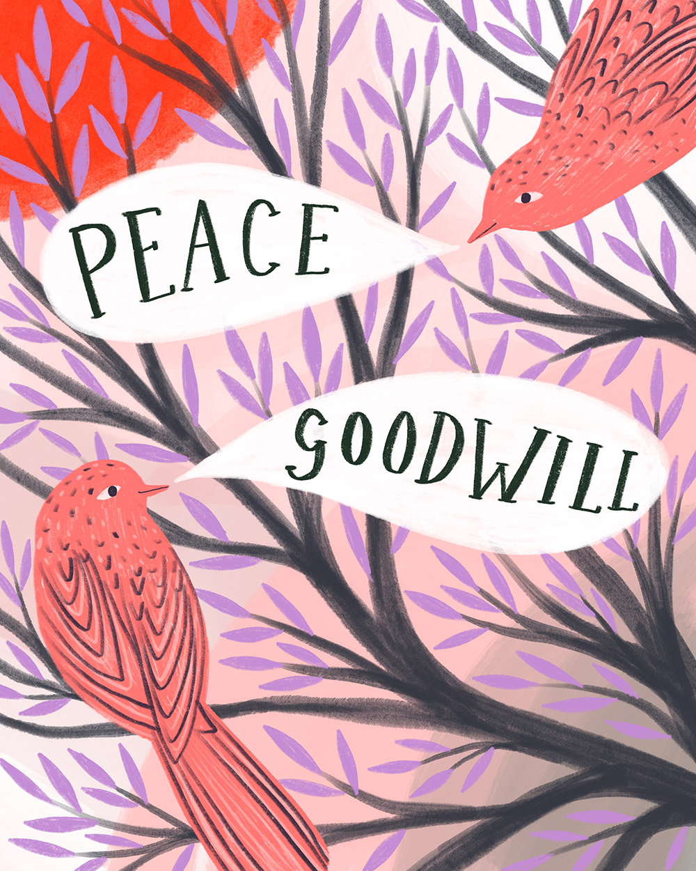 Peace and Goodwill · Lee Foster-Wilson