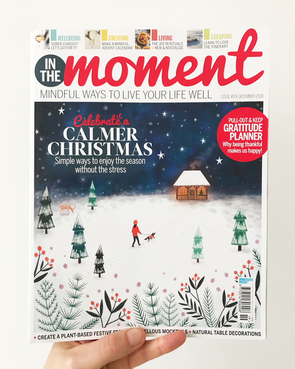 In the Moment Magazine Christmas Cover · Lee Foster-Wilson