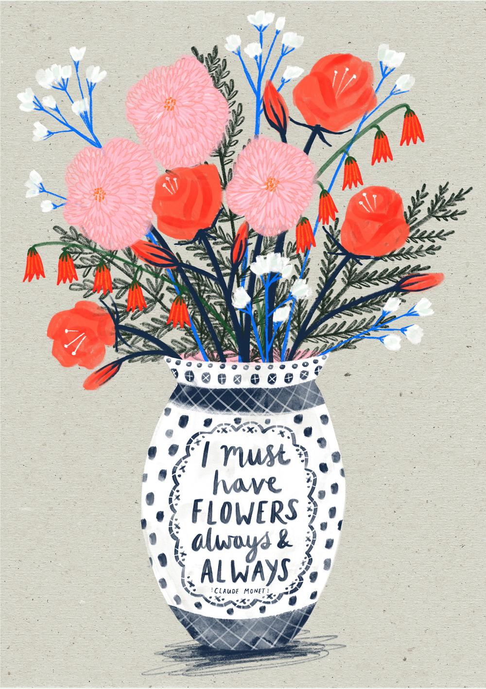 Flowers Always · Lee Foster-Wilson