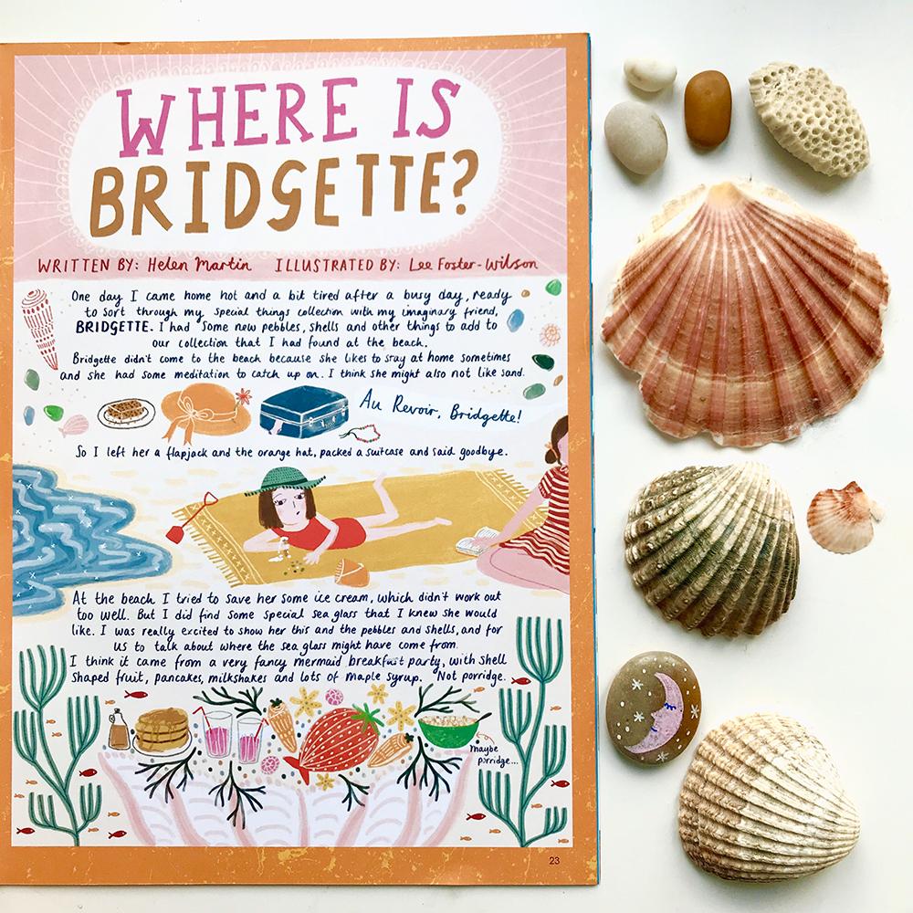 Where is Bridgette? · Lee Foster-Wilson