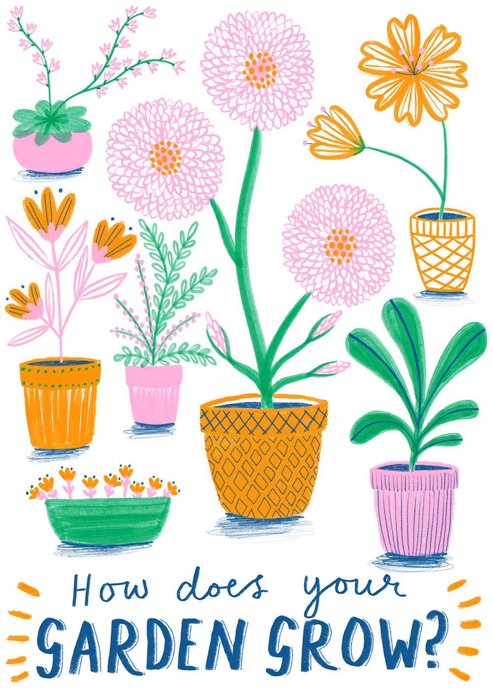 How Does Your Garden Grow? · Lee Foster-Wilson