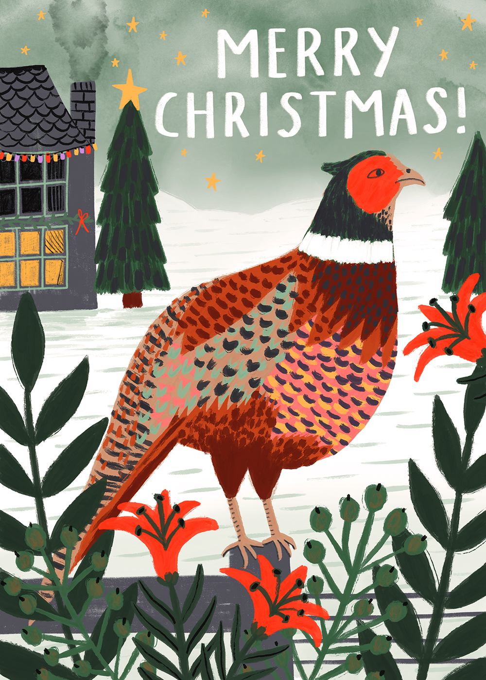 Christmas Pheasant · Lee Foster-Wilson