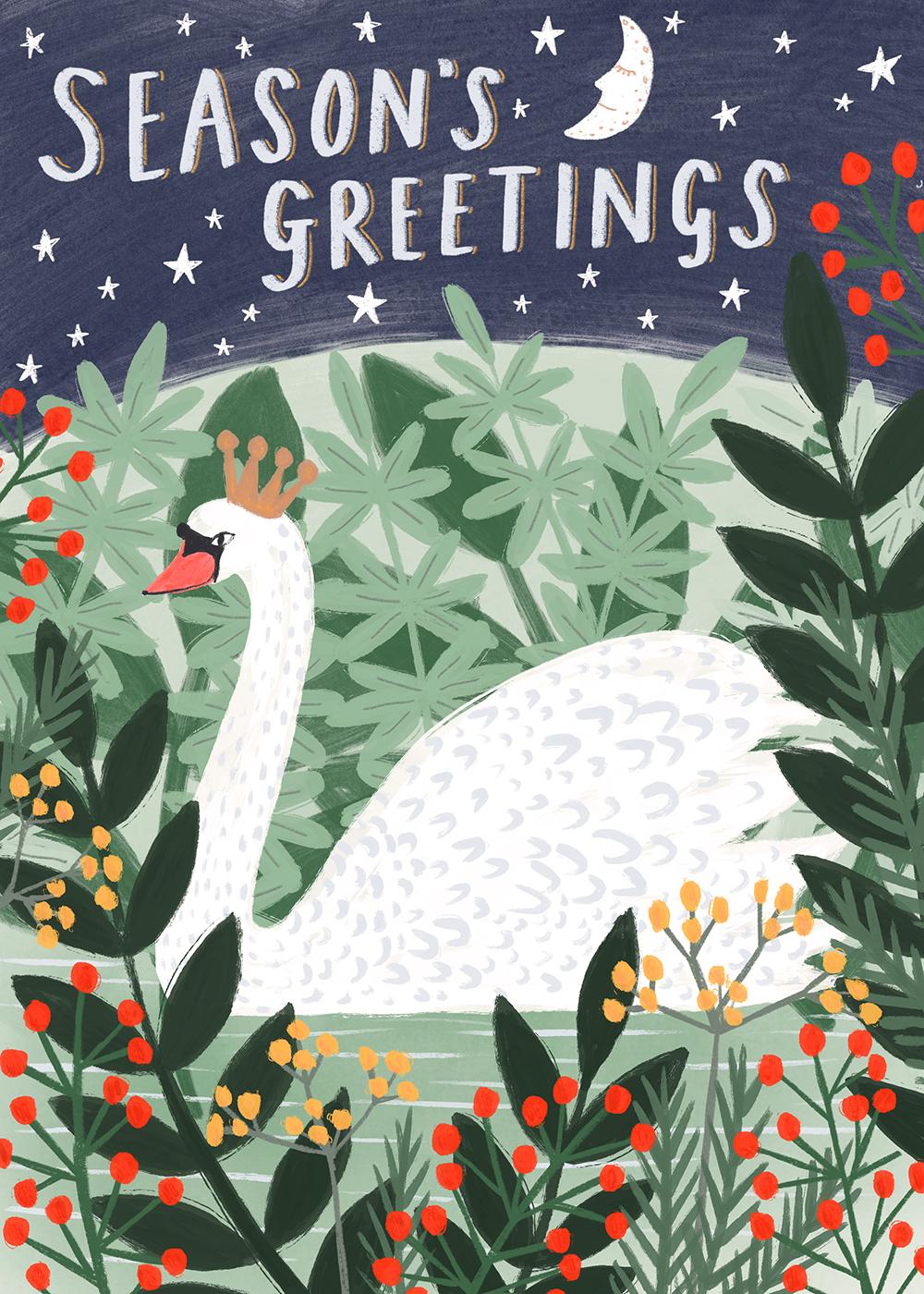 Christmas Swan · Lee Foster-Wilson